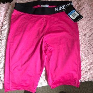 Nike Pro Long Short, Hot Pink